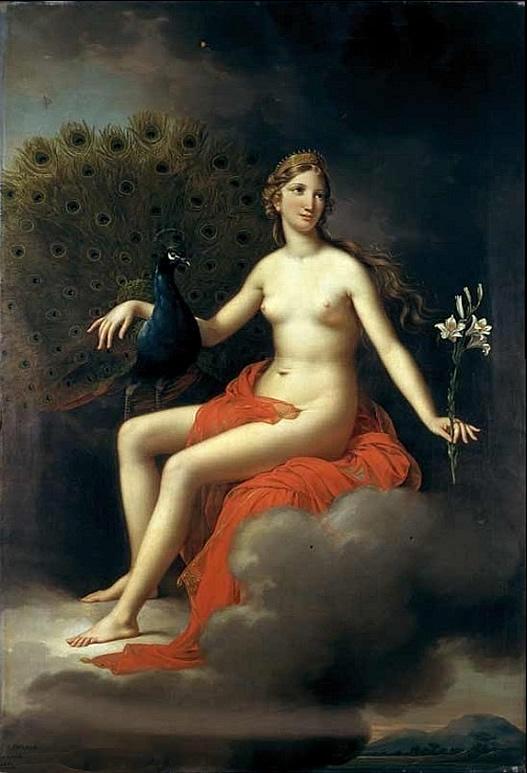 Juno by Joseph Paelinck, 1832.(Museum of Fine Arts, Ghent)
