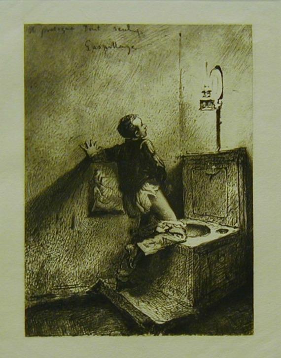 Masturbation by Mihály Zichy, 1911.