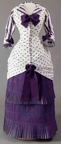 1880 Summer Day Dress.(Met Museum)