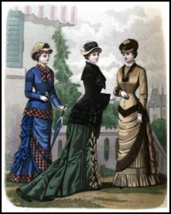 London and Paris Ladies' Magazine, 1885.