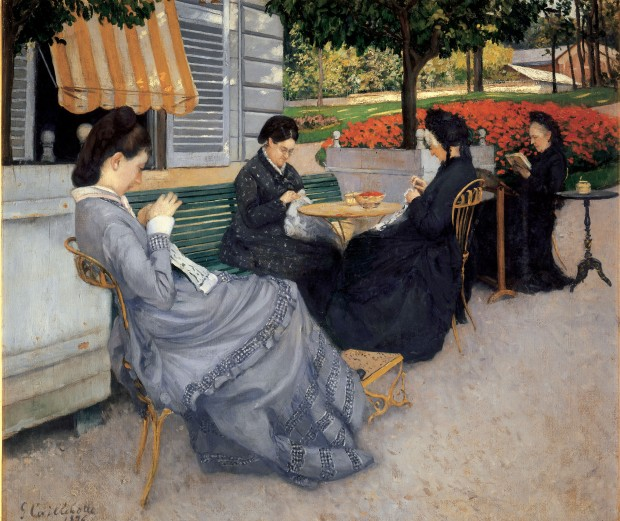 Portraits in the Countryside by Gustave Caillebotte, 1876.