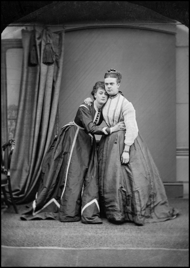 Boulton and Park as Fanny and Stella, 1868.