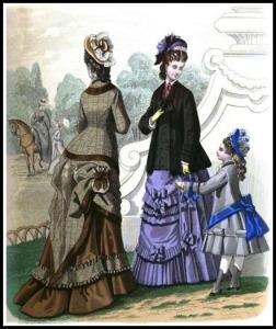 Ladies' Monthly Magazine, 1876.