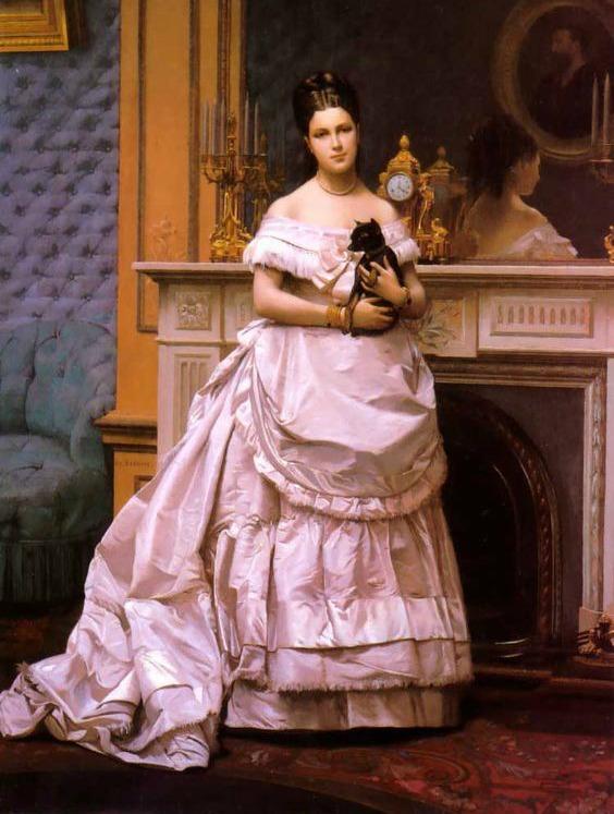 Portrait of a Lady by Jean Léon Gérôme, 1866-1870.