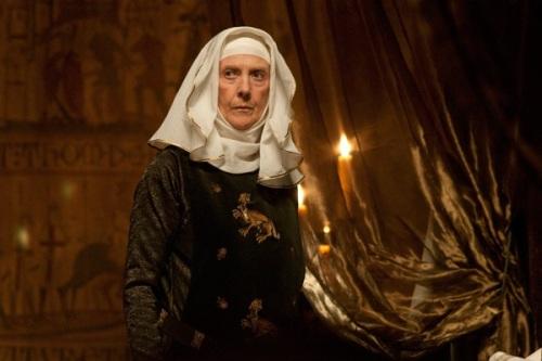 Queen Eleanor's wimple in Robin Hood.
