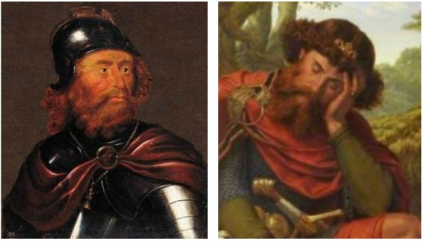 Robert I King of Scotland de Bruce and Malcolm Canmore King of Scots.
