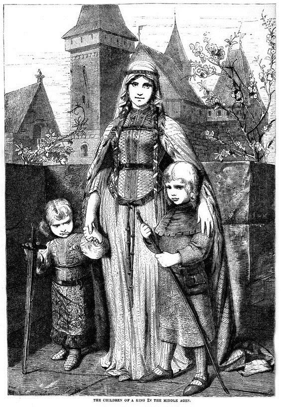Woman and Children.
