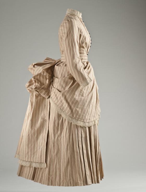 1885 Women's Cotton Tennis Dress.(Image via LACMA)