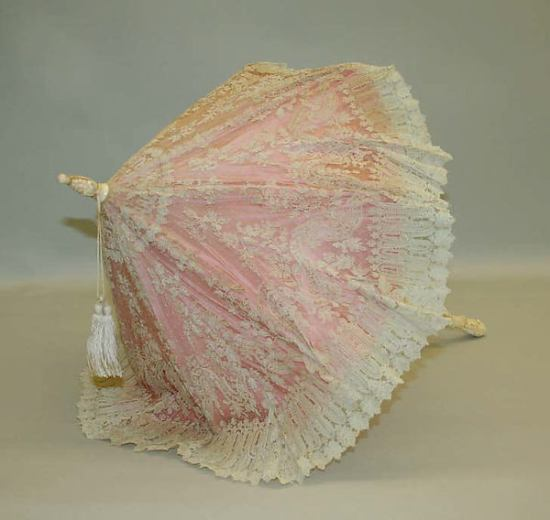 Late 19th Century French Parasol.(Met Museum)