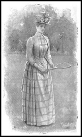 Tennis Dress, The Woman's World, 1889.