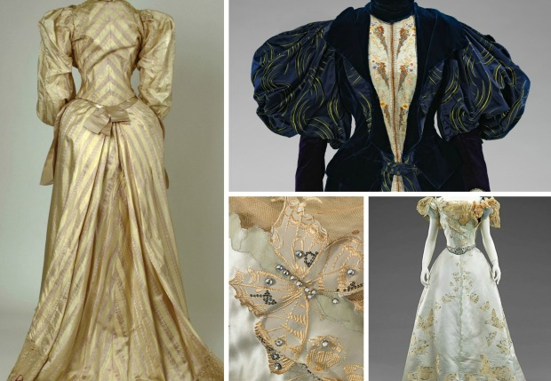 (Individual Images of Gowns via Met Museum)