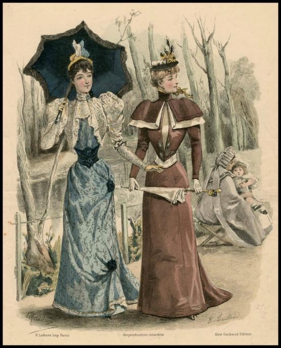 1891-1892 L'Art Et La Mode, Plate 10.(Met Museum)
