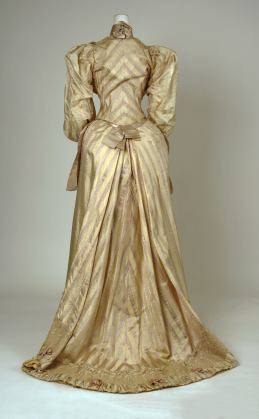1892 Silk Dress.(Met Museum)