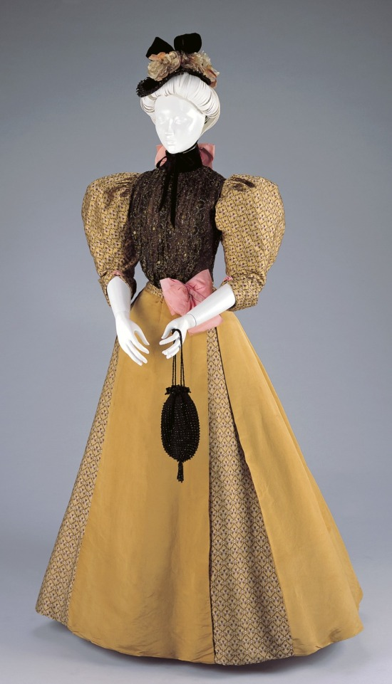 1896-1897 Afternoon Dress.(Cincinnati Art Museum)
