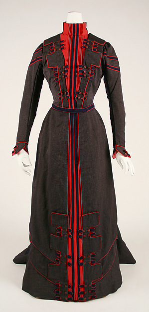 1899-1900 Walking Dress.(Met Museum)