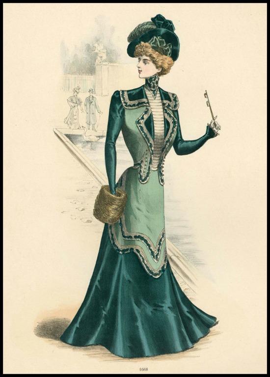 1899, Le Succès, Plate 4.(Met Museum)