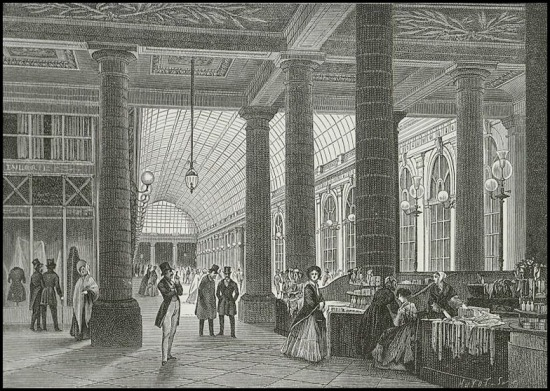 Galerie d'Orléans, 1840.