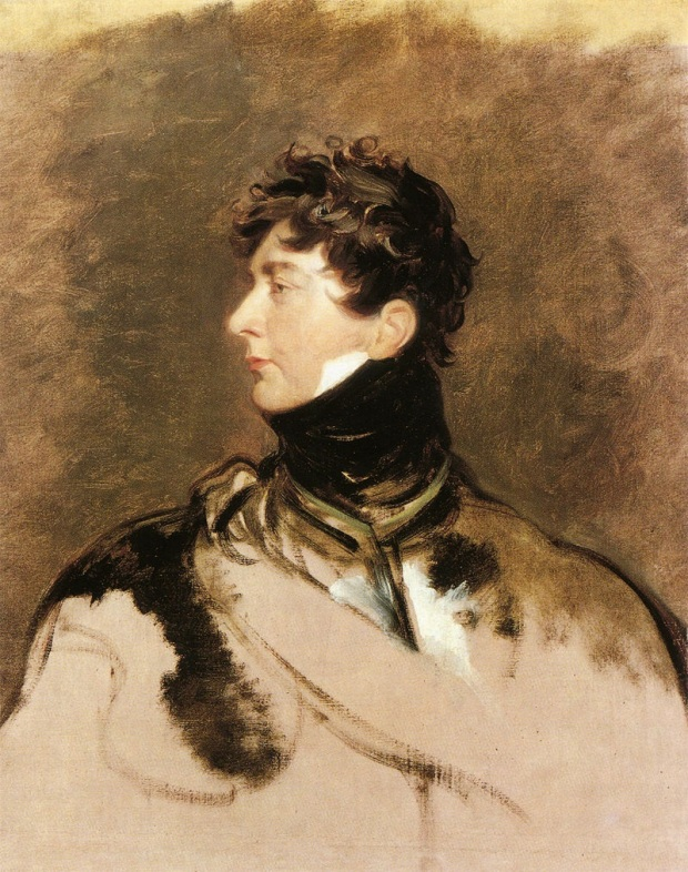 George IV by Sir Thomas Lawrence, 1814.