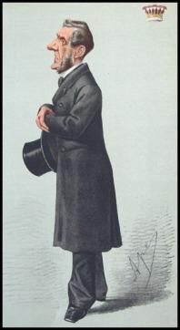 The Earl of Shaftesbury by Carlo Pellegrini, Vanity Fair, 1869.