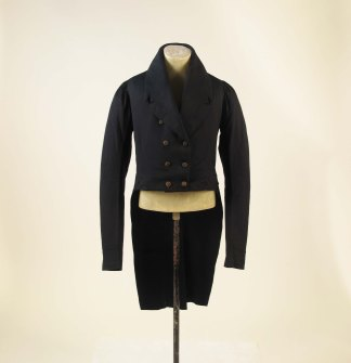 1815 Wool Tailcoat.(Met Museum)