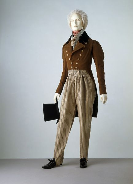 1820-1830 Cossack Trousers.(Victoria and Albert Museum)