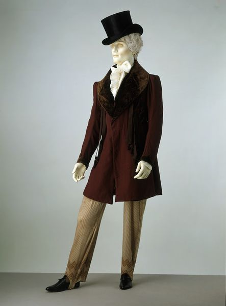 1828-1830 Frock Coat.(Victoria and Albert Museum)