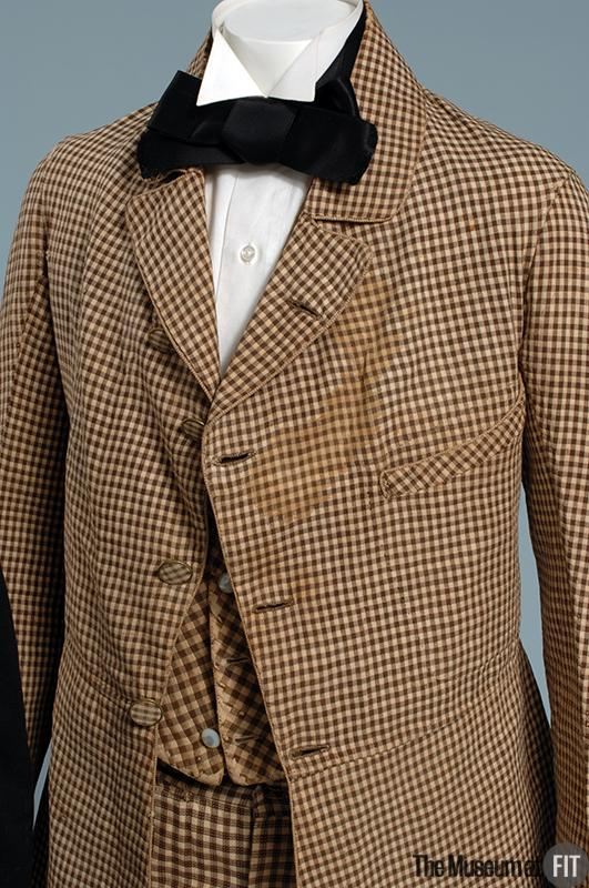 1845 Cotton and Linen Suit.(Museum at FIT)