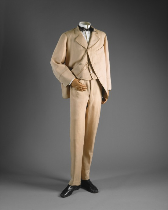 1865-1870 Wool Suit.(Met Museum)