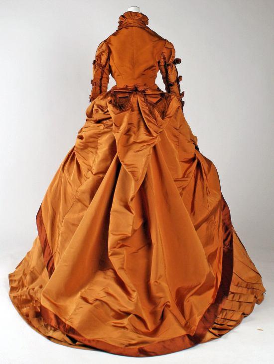 1867–1871 Depret French Silk Gown.(Met Museum)