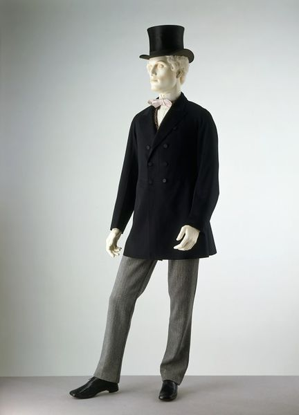 1870-1800 Wool Twill Trousers.(Victoria and Albert Museum)