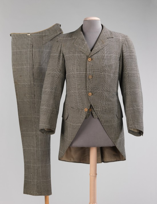1894 J.B. Johnstone Wool Morning Suit.(Met Museum)