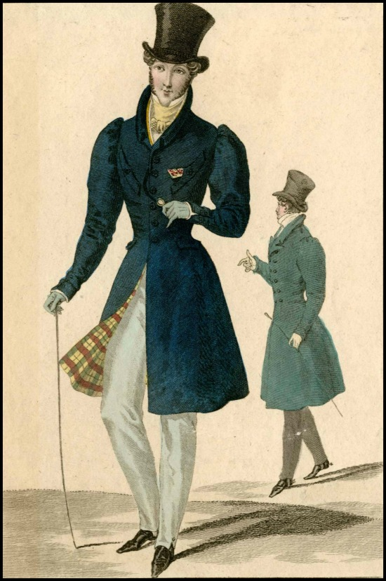 Costume Parisien, 1826.