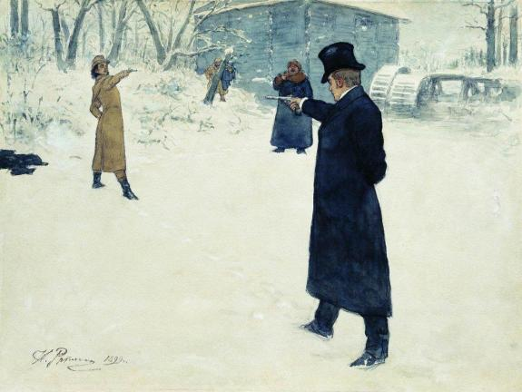 duel-between-onegin-and-lenski-by-ilya-repin-1899