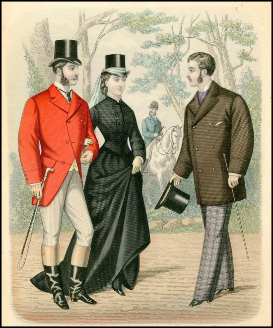 Gentleman's Magazine of Fashion, 1876.
