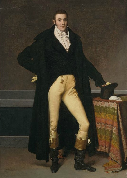 Portrait of Joseph-Antoine de Nogent by Jean-Auguste-Dominique Ingres, 1815.( Harvard Art Museums/Fogg Museum)