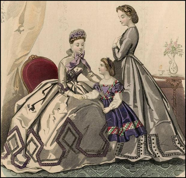 Journal des Demoiselles, Plate 054, 1863.