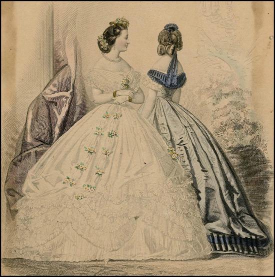 Petit Courrier des Dames, Plate 075, 1863