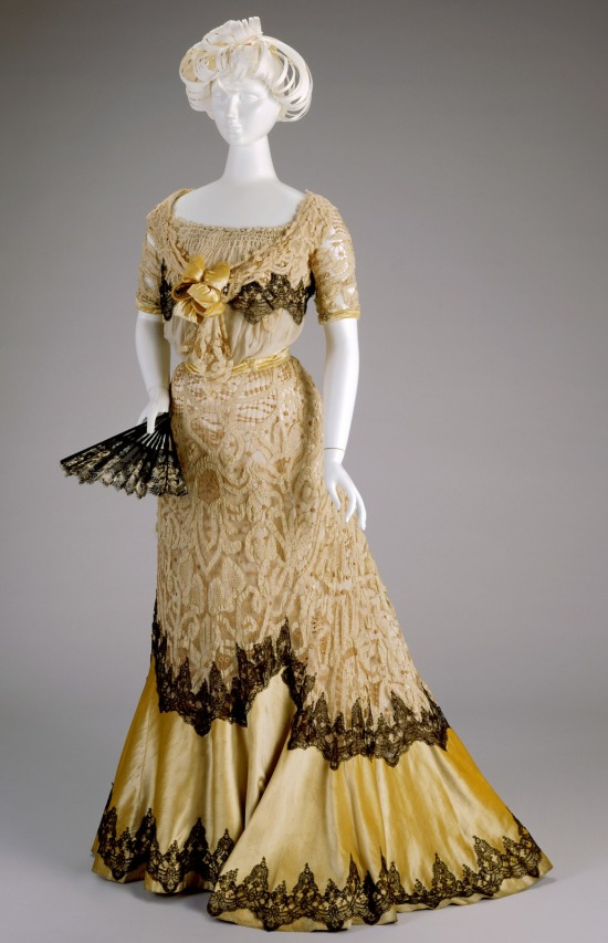 shades of victorian fashion butter lemon gold and