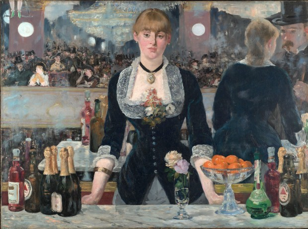 A Bar at the Folies-Bergère by Edouard Manet, 1882.
