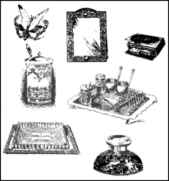 Novelties at Mappin and Webb's, The Sketch, 1899.