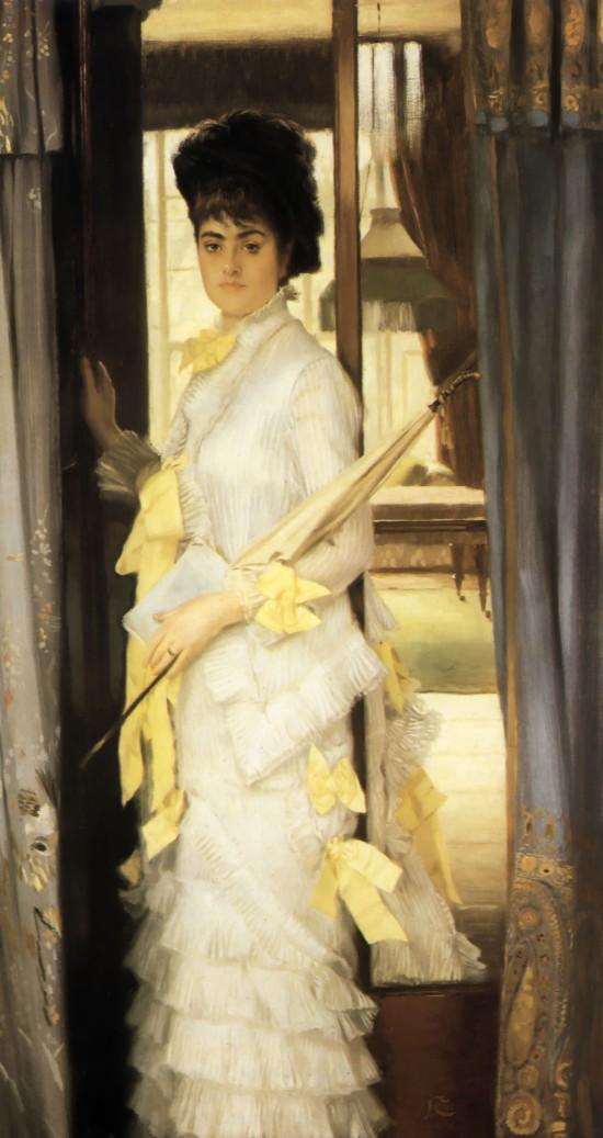 Portrait of Miss Lloyd by James Tissot, 1876.