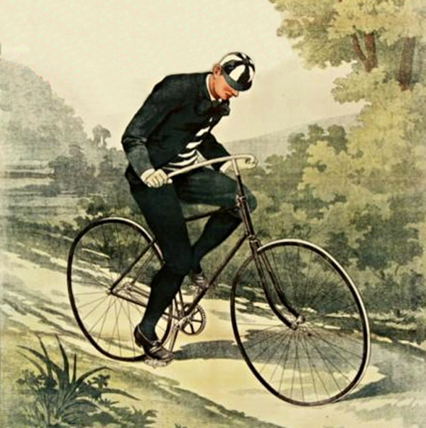 Bicycle Detail, Poster of the Société Parisienne, 1895.