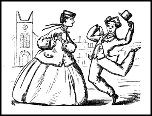 To One with Whom You Have Danced, The Lover's Poetic Companion and Valentine Writer, 1875.
